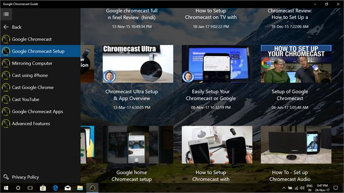 Buy Google Chromecast Guide - Microsoft Store