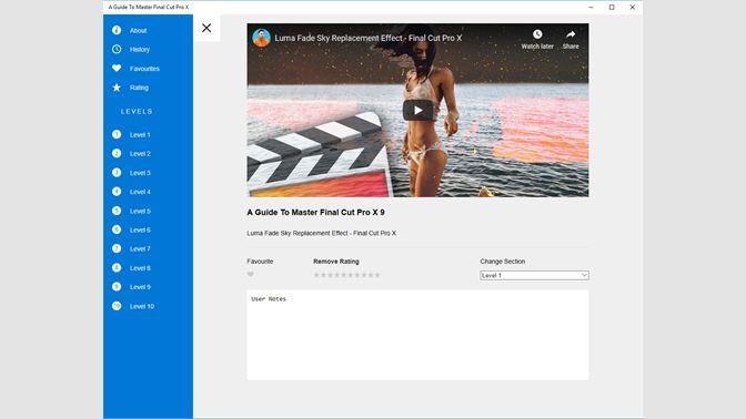 Buy A Guide To Master Final Cut Pro X - Microsoft Store en-CY