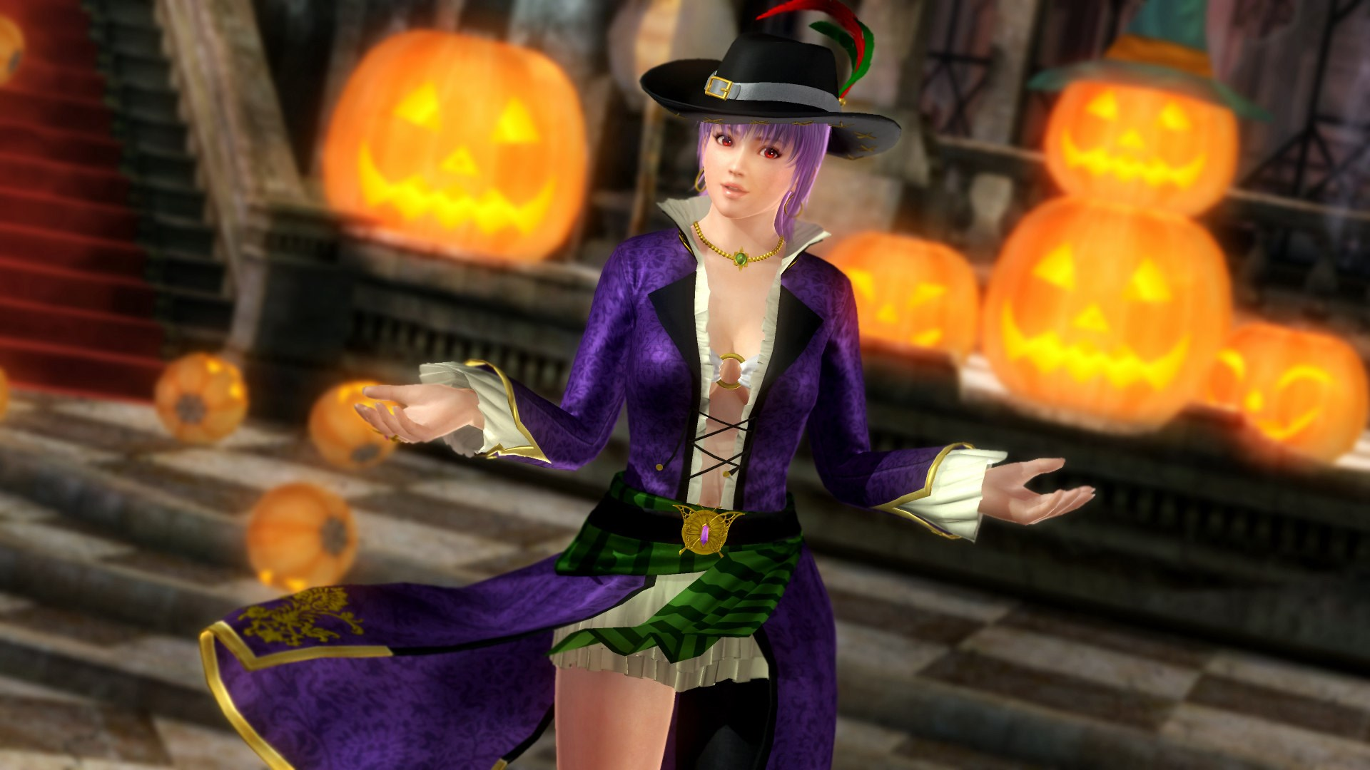 DOA5LR Halloween Costume 2017 - Ayane