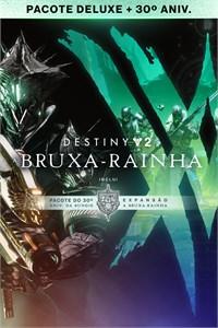 Destiny 2: Pacote A Bruxa-Rainha Deluxe + 30º Aniversário da Bungie