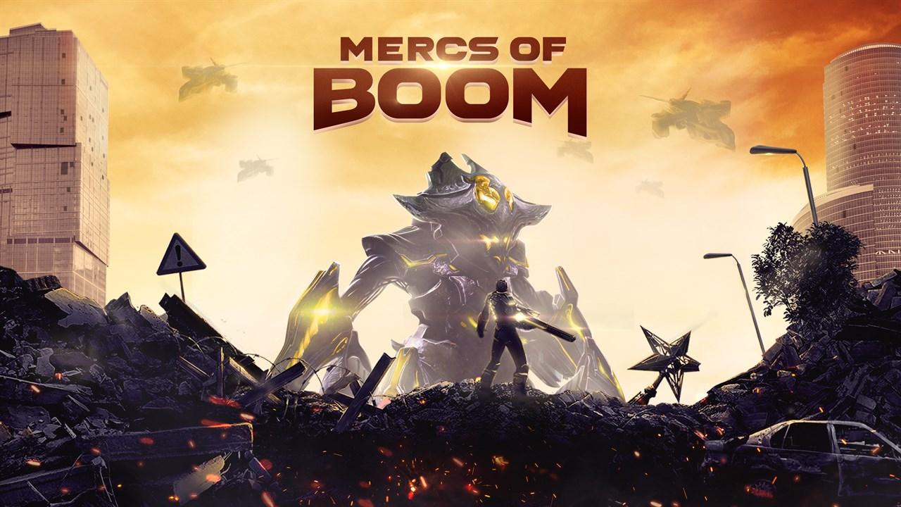 Comprar Mercs Of Boom Microsoft Store Es Es