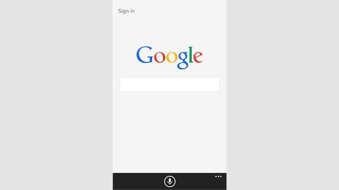 Get Google - Microsoft Store