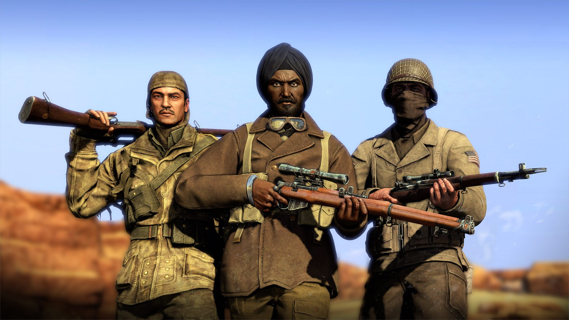 Allied Reinforcement Outfits Pack