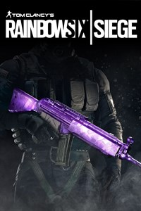 Tom Clancy's Rainbow Six Siege : Amethyst Weapon Skin