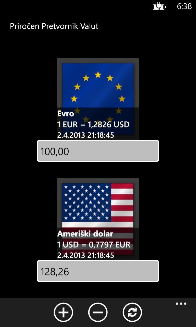 pretvorniki valut