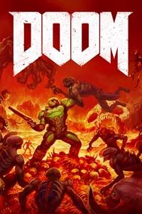 Carátula para el juego DOOM de Xbox 360