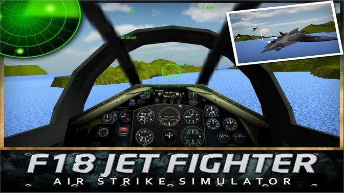 Get F18 Jet Fighter Air Strike - Microsoft Store