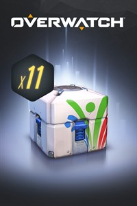 Carátula del juego Overwatch - 11 Summer Games Loot Boxes