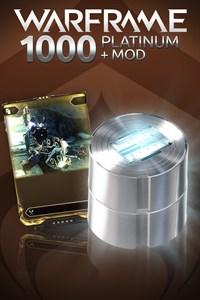 Carátula del juego Warframe: 1000 Platinum + Rare Mod