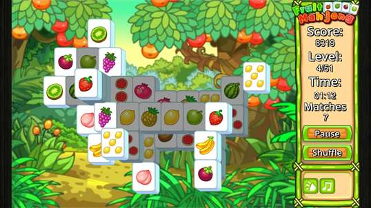 Fruit Mahjong' screenshot 3