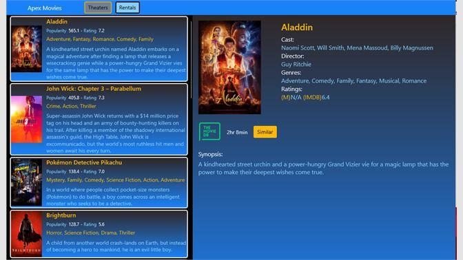 Get APEX Movies - Microsoft Store