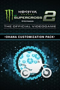 Monster Energy Supercross 2 - Ohana Customization Pack