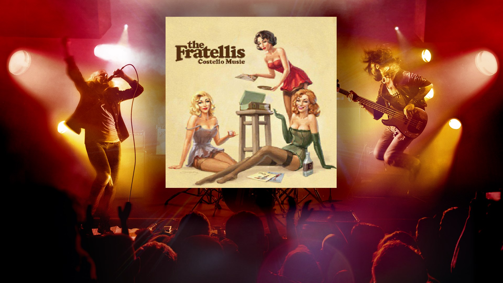 """Creepin' Up the Backstairs"" - The Fratellis"
