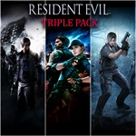 Resident Evil Triple Pack Logo