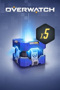 Carátula del juego Overwatch 5 Archives Loot Boxes