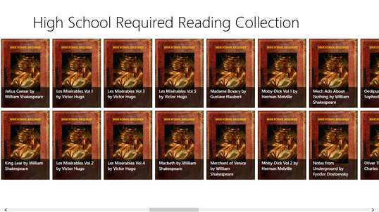 High School Required Reading Collection screenshot 2