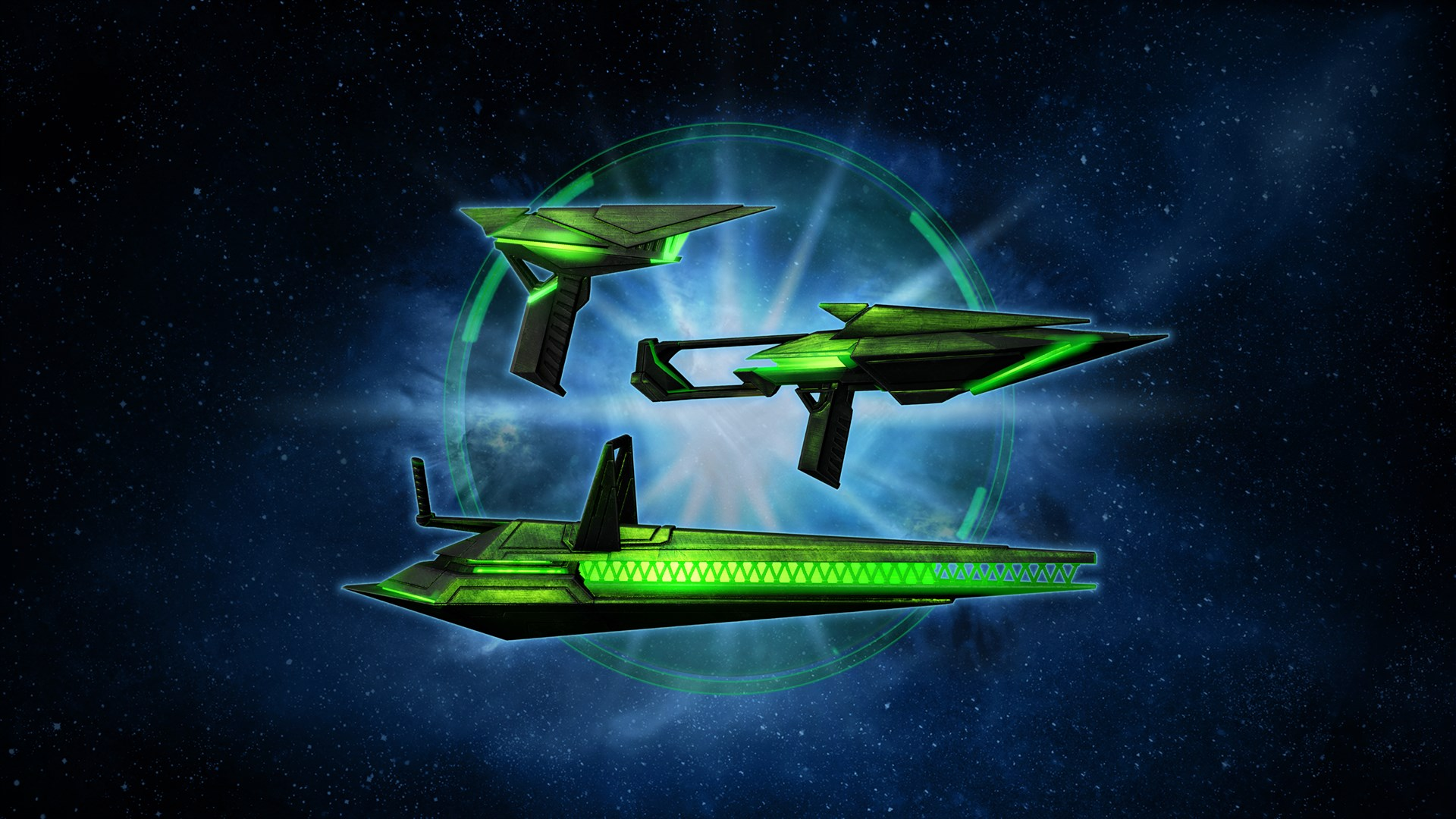 Star Trek Online: House Divided Exclusive Verdant Ba'ul Weapon Pack