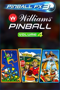 Carátula del juego Pinball FX3 - Williams Pinball: Volume 4