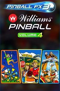 Carátula para el juego Pinball FX3 - Williams Pinball: Volume 4 de Xbox 360