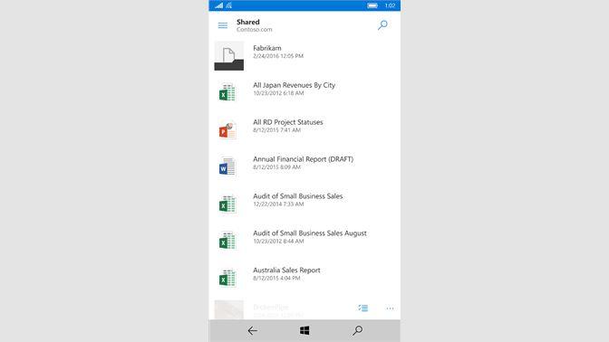 Get OneDrive - Microsoft Store