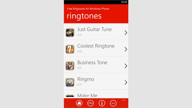Get Free Ringtones for Windows Phone - Microsoft Store