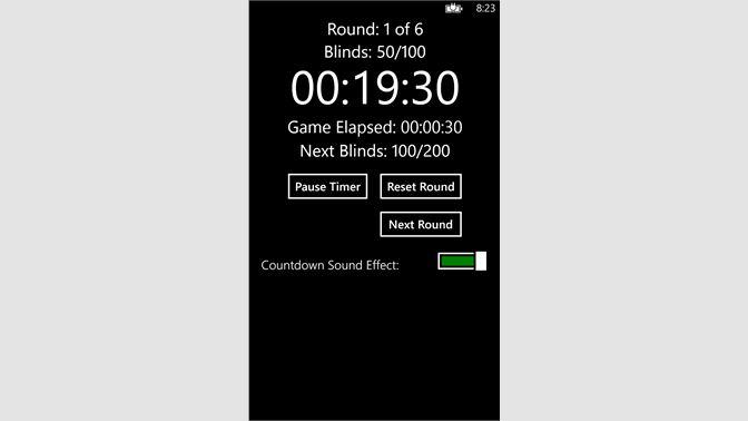 Get Texas Hold-em Timer - Microsoft Store