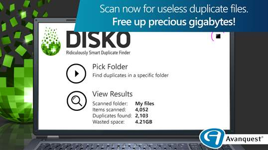 Duplicate Cleaner Pro by Disko screenshot 1