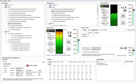 DS WASAPI ASIO Router Mixer Screenshots 1