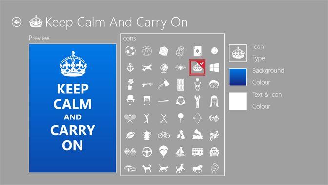 Keep Calm Microsoft Store Ar Sa