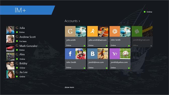 Get IM+ Instant Messenger - Microsoft Store