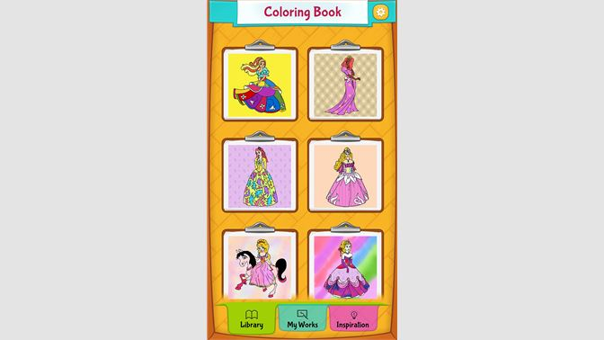 Get Princess Coloring Pages