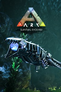 Carátula del juego ARK: Survival Evolved Bionic Mosasaurus Skin