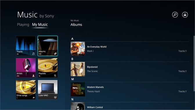 Get Music by Sony - Microsoft Store