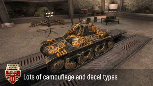 Battle Tanks: Legends of World War II 3D Tank Games screenshot 5