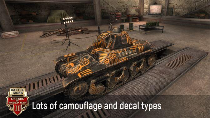 Get Battle Tanks: World War 2 Tank Legends Game Online