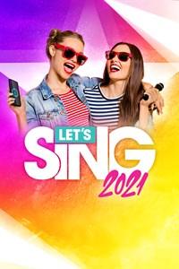 Carátula para el juego Let's Sing 2021 de Xbox 360
