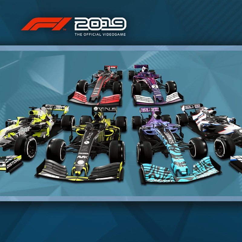 F1 2019 - Livery Showcase Pack