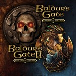 Baldur's Gate and Baldur's Gate II: Enhanced Editions Logo