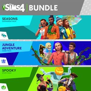 The Sims™ 4 번들 - 사계절 이야기, 정글 어드벤처, 오싹오싹 아이템팩 Xbox One