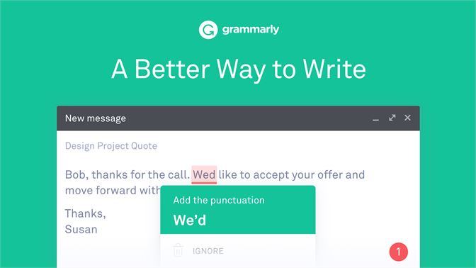 Get Grammarly for Microsoft Edge - Microsoft Store