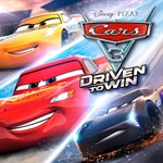 Cars 3: Driven to Win Logo