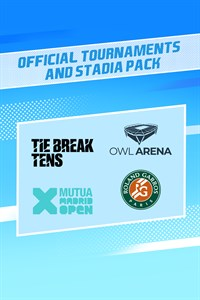 Tennis World Tour 2 - Official Tournaments and Stadia Pack Xbox One