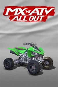 Carátula para el juego 2011 Kawasaki KFX450R de Xbox 360