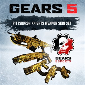 Conjunto de Equipamentos da Pittsburgh Knights Xbox One
