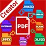 Real PDF Creator for Office Free - Word to PDF, Images to PDF, xlsx to PDF, pptx to PDF, URL to PDF, & More