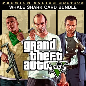 Grand Theft Auto V: Premium Online Edition & Whale Shark Card Bundle Xbox One