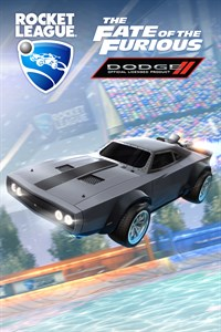 Carátula del juego Rocket League - The Fate of the Furious Ice Charger