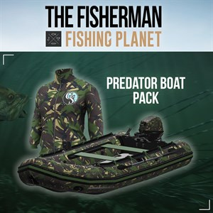 The Fisherman - Fishing Planet: Predator Boat Pack Xbox One