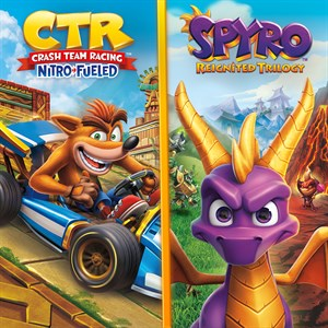 Crash™ Team Racing Nitro-Fueled + Spyro™ Game Bundle Xbox One