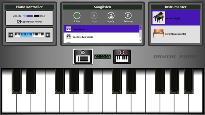 Kjøp Digital Piano – Microsoft Store nb NO